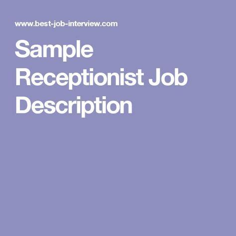 What is job profile in resume